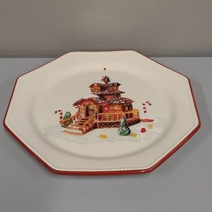 Williams Sonoma Porcelain Christmas Serving pl